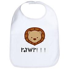 Rawr Lion Bib