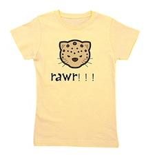Rawr Cheetah Girl's Tee