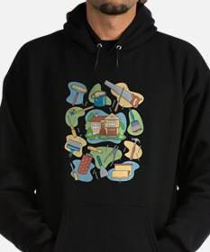 Unique Tools Hoodie (dark)