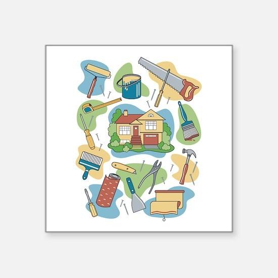Home Improvement Sticker