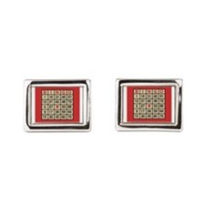 Cute Identity Rectangular Cufflinks