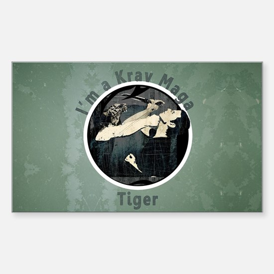 Krav Maga Tiger Decal