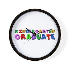 Kindergarten graduation idea Wall Clock