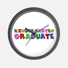Kindergarten graduation idea Wall Clock