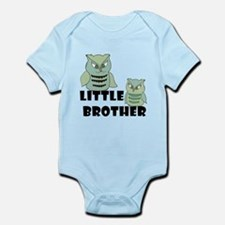 Little Brother Owls Body Suit