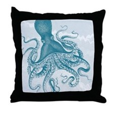 Funny Textured Throw Pillow