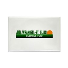 Wrangell-St. Elias National P Rectangle Magnet
