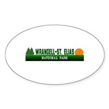 Wrangell-St. Elias National P Oval Decal
