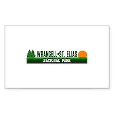 Wrangell-St. Elias National P Sticker (Rectangular
