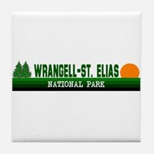 Wrangell-St. Elias National P Tile Coaster