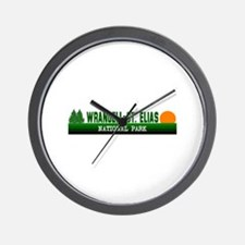 Wrangell-St. Elias National P Wall Clock