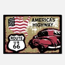 Cute Route 66 Postcards (Package of 8)