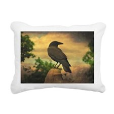 Funny Crow Rectangular Canvas Pillow