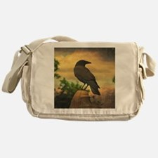 Unique Crow Messenger Bag