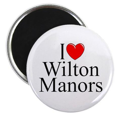 """I Love Wilton Manors"" Magnet"