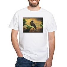 Dark Retro Crow T-Shirt