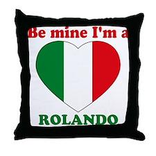 Rolando, Valentine's Day Throw Pillow