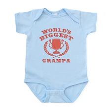 World's Biggest Grampa Infant Bodysuit