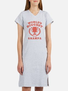 World's Biggest Grampa Women's Nightshirt