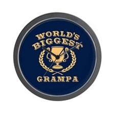World's Biggest Grampa Wall Clock