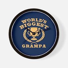 World's Biggest Grampa Wall Clock