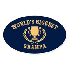 World's Biggest Grampa Decal