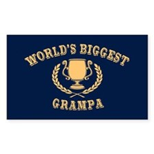 World's Biggest Grampa Decal