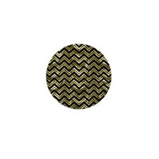 Cute Black and gold Mini Button