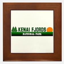 Kenai Fjords National Park Framed Tile