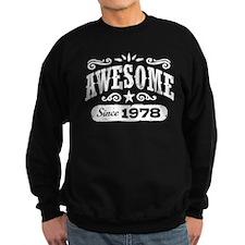 Awesome Since 1978 Sweatshirt