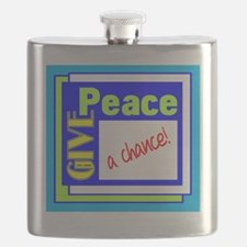 Give Peace A Chance Flask