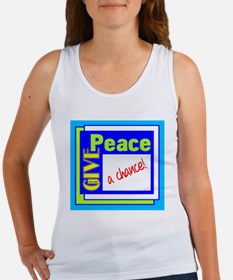 Give Peace A Chance Tank Top