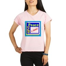 Give Peace A Chance Performance Dry T-Shirt