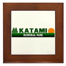 Katami National Park Framed Tile
