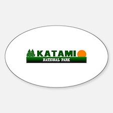 Katami National Park Oval Decal