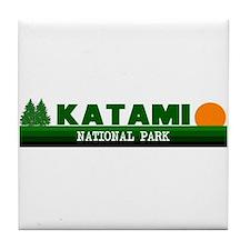 Katami National Park Tile Coaster