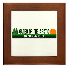 Gates of the Arctic National Framed Tile