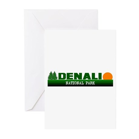 Denali National Park Greeting Cards (Pk of 10)