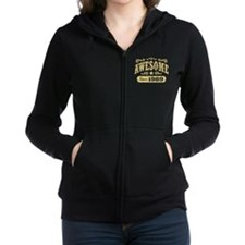 Awesome Since 1989 Women's Zip Hoodie