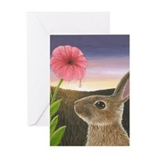 Hare 58 Greeting Cards
