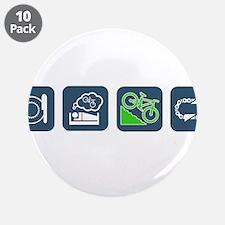 """Unique Biking 3.5"""" Button (10 pack)"""