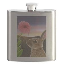 Cute Wild rabbit Flask