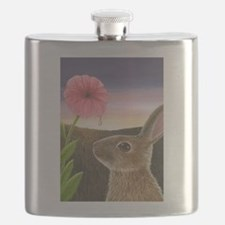 Cute Wild rabbit Flask