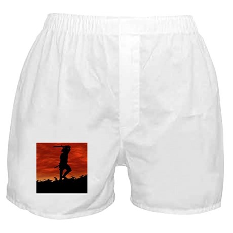 The Lone Samurai Boxer Shorts