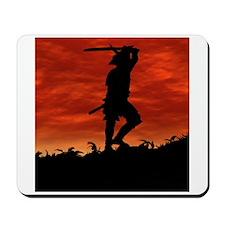 The Lone Samurai Mousepad