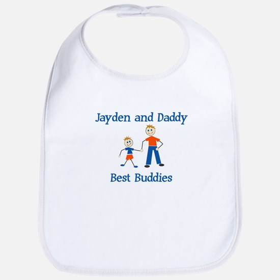 Jayden & Daddy - Best Buddies Bib