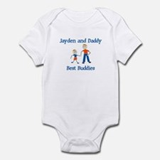 Jayden & Daddy - Best Buddies Infant Bodysuit