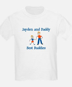 Jayden & Daddy - Best Buddies T-Shirt