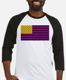 US tricolored flag Baseball Jersey