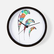 Cute Zentangle Wall Clock